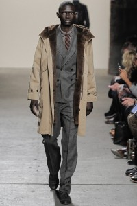 Nutria fur walks Billy Reids runway at New York Fashion Week!
